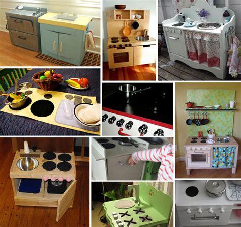 cucina per bambini fai da te cucina giocattolo dieci esempi di cucine giocattolo fai