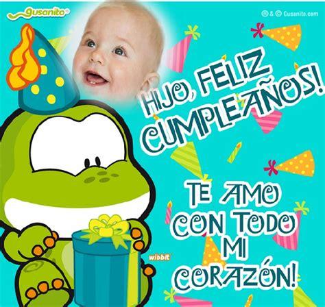 imagenes bonitas de cumpleaños gratis frases bonitas im 193 genes de cumplea 209 os para mi hijo