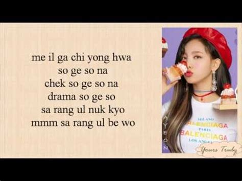 twice what is love lyric twice what is love easy lyrics youtube