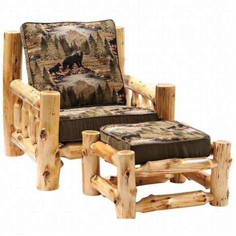 log cabin furniture ideas how 10 log furniture ideas woodz