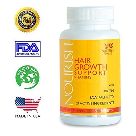 ingredients for dasgro hair supplements nourish vitamins for hair growth support 100 guaranteed