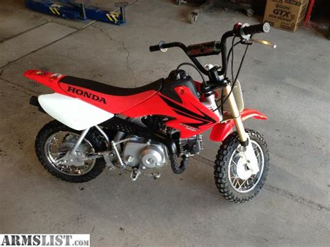 armslist for sale 2007 honda crf 50 mint condition one