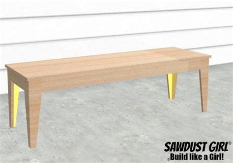 diy tapered table legs tapered leg bench easy diy project build sawdust 174
