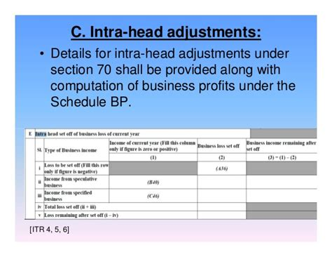 section 70 of income tax act recent changes in income tax forms efiling