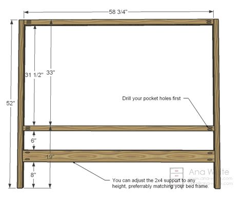 Building A Headboard Pdf Diy How To Build A Headboard Loft Bed Plans Woodguides