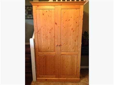 Armoire Canada by Euc Canadian Made Solid Pine Armoire Wardrobe Delivery