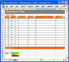 Maintenance Program Template by Maintenance Plan Template Instant