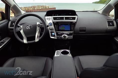 Prius 2015 Interior by 2015 Toyota Prius V Four Review Carsquare