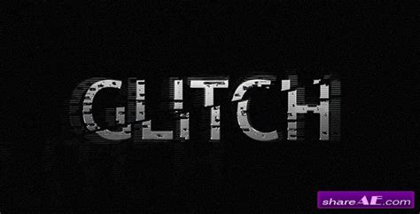Glitch After Effects Project Videohive 187 Free After Effects Templates After Effects Free After Effects Template Glitch Intro