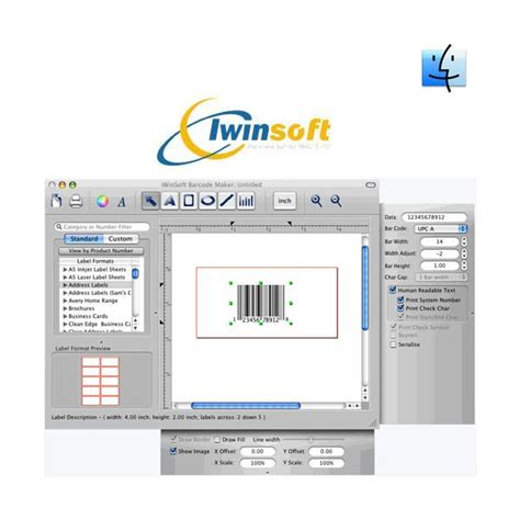 Software Barcode For Mac iwinsoft barcode maker for mac mac