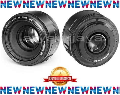 Lensa Fix Yongnuo 50mm 18 For Canon 1 jual lensa fix yongnuo 50mm 1 8 for canon di lapak arya