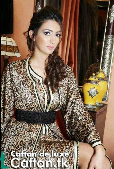 Kaftan Nadin robe caftan marron luxueux caftan haute couture 2016 2017