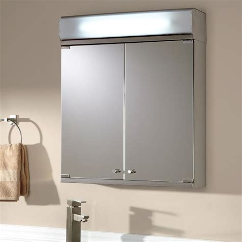 25 best ideas about lighted medicine cabinet on