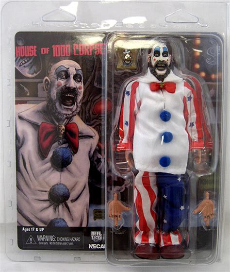 house of 1000 dolls captain spaulding house of 1000 corpses doll figure clothed retro series at cmdstore com