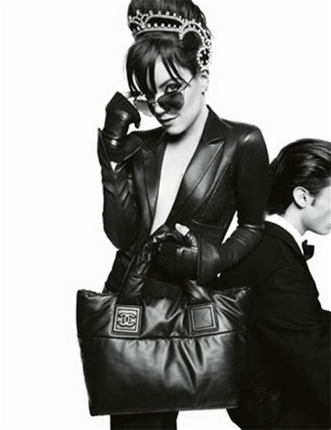 Lilly Allen For Chanel allen chanel cocoon 01