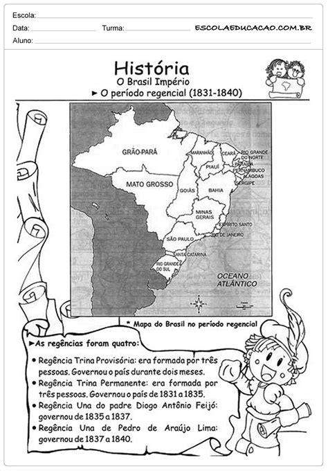 atividades-de-historia-5-ano-periodo-regencial - Escola