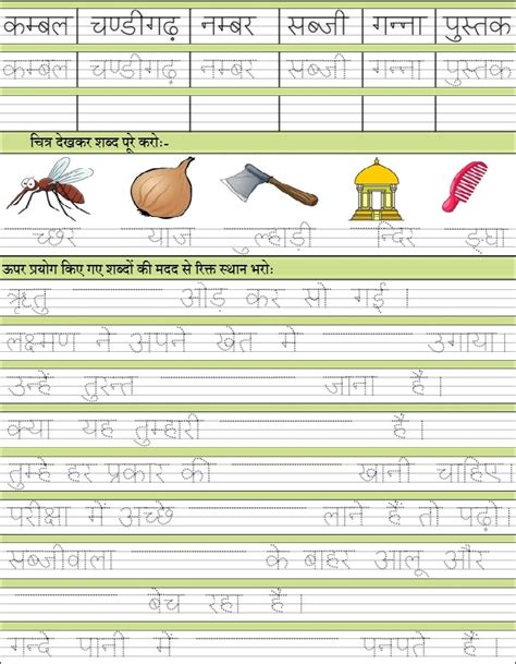 free printable hindi handwriting worksheets grade hw hindi spelling vocab worksheets cbse icse