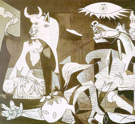 picasso paintings guernica meaning pablo picasso traits of modern the fashion spot