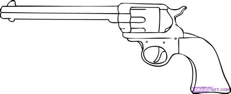 how to draw doodle guns how to draw a gun step by step guns weapons