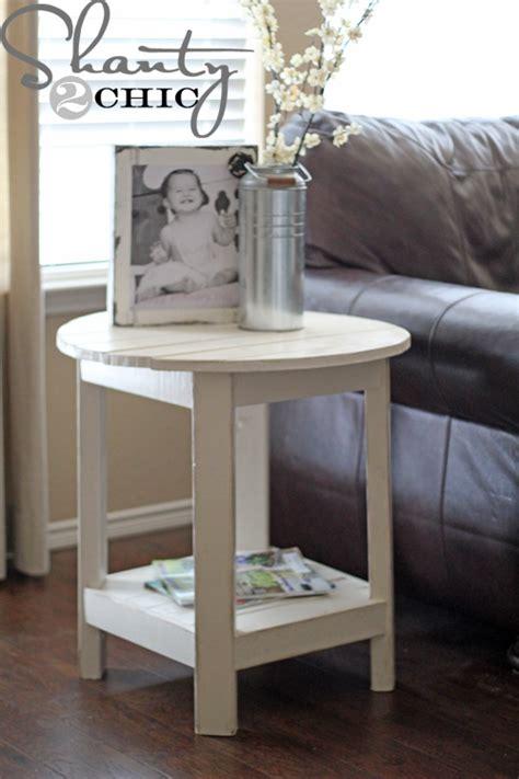 diy pottery barn inspired benchright side table shanty