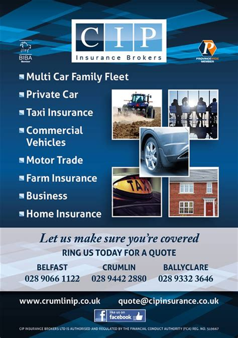 Car Insurance Brokers Ireland by Cip Insurance Brokers Crumlin Taxi Insurance Northern