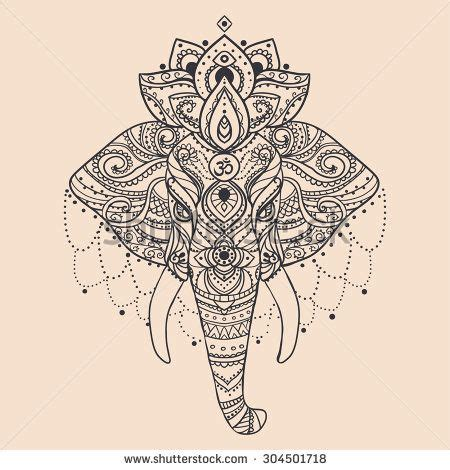 tattoo paper online india lace elephant tattoo recherche google like pinterest