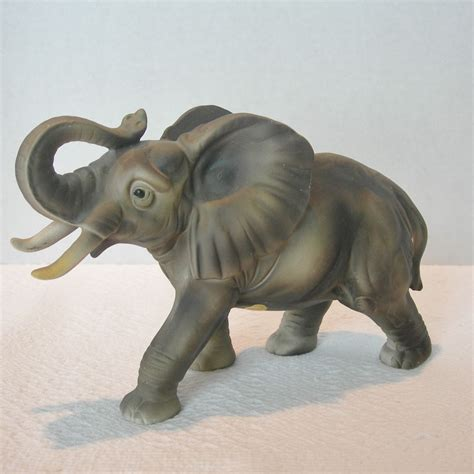 ceramic elephant ceramic african elephant figurine from dorothysbling on