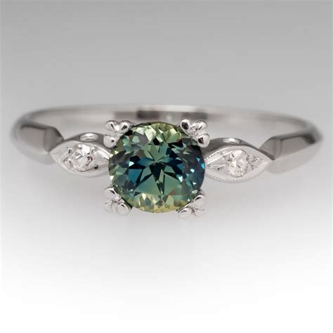 blue green sapphire engagement 396 best sapphire engagement rings images on