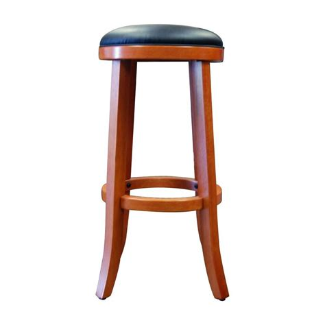 boraam 29 in juno bar stool in es cherry 92029 the home