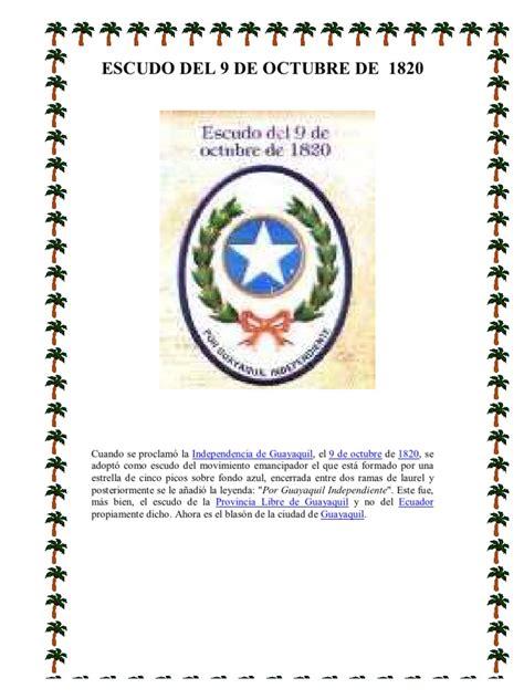 Resumen 9 De Octubre De 1820 by Escudo 9 De Octubre De 1820