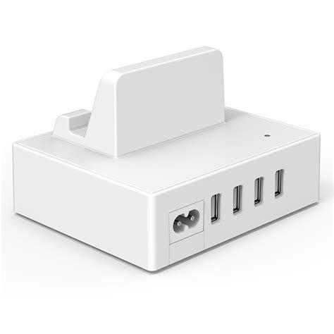 Orico 4 Usb Smart Charging Dock Dpc 4us Bk orico 4 port usb charger station