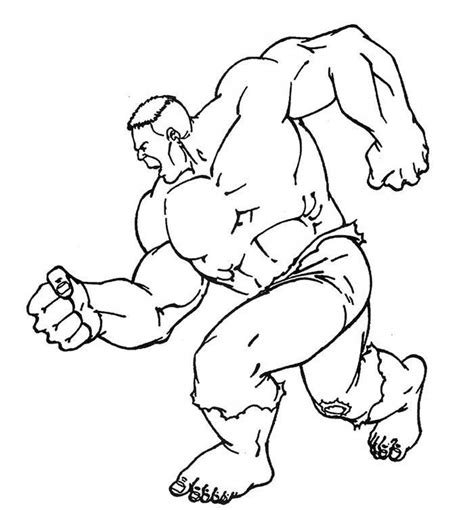 hulk coloring pages easy hulk coloring pages coloringsuite com