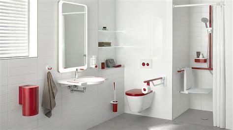 behindertengerechte badezimmer designs waschtische aus mineralguss hewi