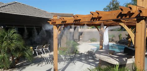 misters for backyard scottsdale misting systems misters scottsdale fog