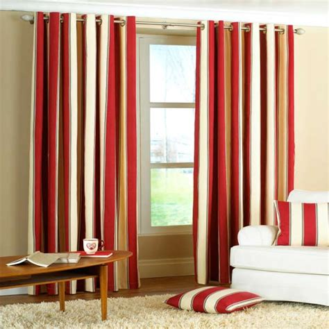 raspberry red curtains gatsby stripe panama eyelet lined curtains ebay