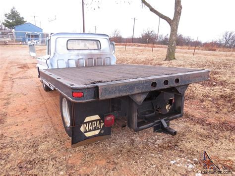 can you wear tons to bed 1961 gmc 1 ton flat bed standard truck