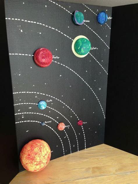 craft ideas for solar system solar system planets craft sun moon planets