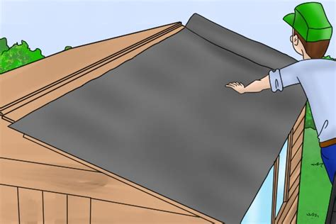 Putting Felt On A Shed Roof by How To Assemble A Forest Garden Shed