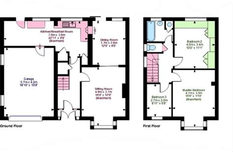 house extension layout semi detached extension