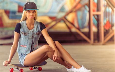 wallpaper girl in cap download wallpaper 1920x1200 young blonde girl legs