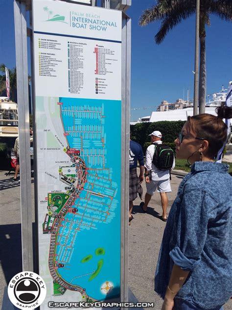palm beach boat show 2018 vendors custom illustrated maps 2018 palm beach international