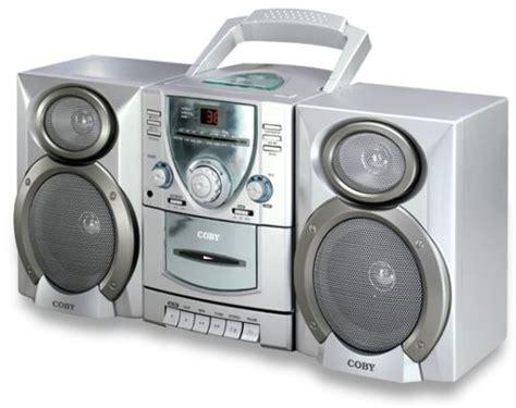 stereo cassette player coby cx cd400 mini hi fi cd stereo cassette player
