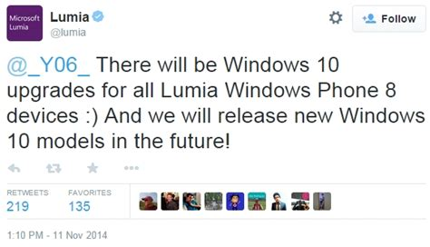 windows 10 win10 wp8 windows phone wp8 microsoft all lumias running windows phone 8 will be