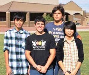 foreign exchange students learning about life in maricopa