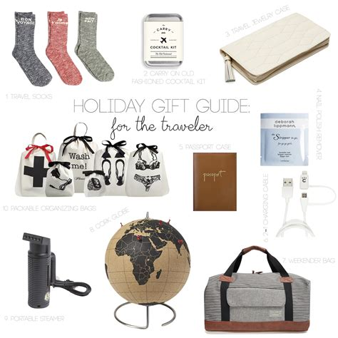 holiday gift guide for the traveler my style pill