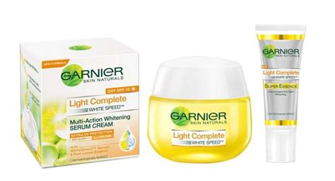 review garnier light complete essence dan serum