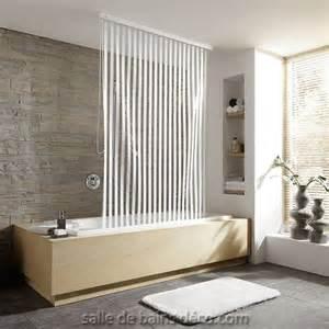 rideau de baignoire store de stripes