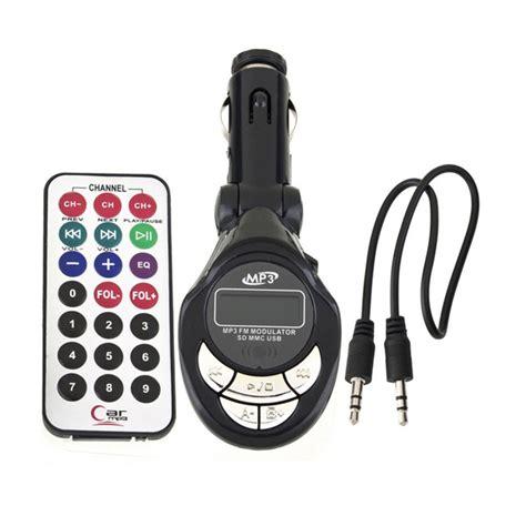 Fm Modulator Cars Mp3 dependable fashion new car mp3 player wireless fm transmitter modulator usb sd cd mmc remote xrc