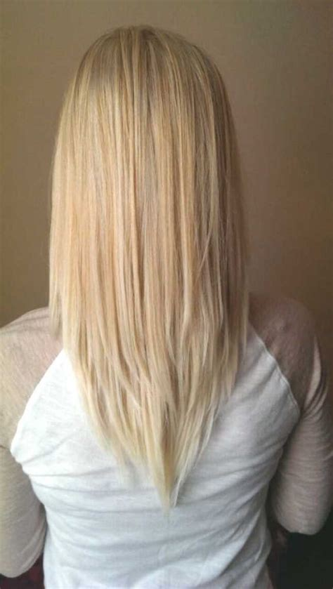 V Cut Hairstyle by 20 Chic Everyday Hairstyles For Shoulder Length Hair