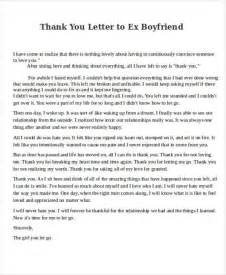 Support Letter To Boyfriend 8 Boyfriend Thank You Letter Sles